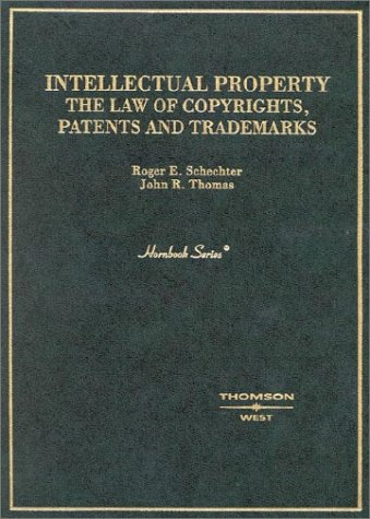Hornbook on Intellectual Property The Law of Copyrights, Patents and Trademarks  2003 9780314065995 Front Cover
