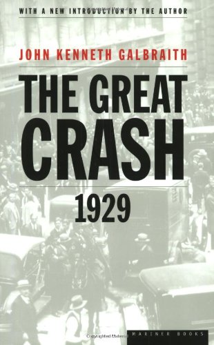 Great Crash 1929   1997 (Revised) edition cover