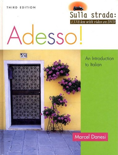 Adesso! An Introduction to Italian 3rd 2006 9780470424995 Front Cover