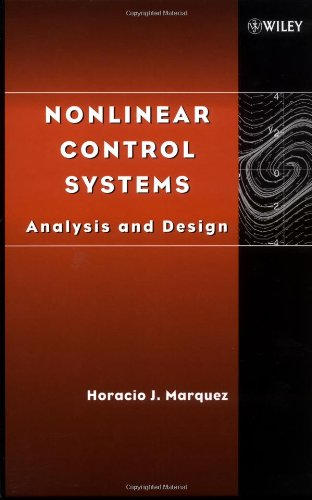 Nonlinear Control Systems Analysis and Design  2003 edition cover