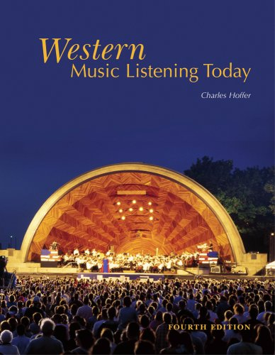 Western Music Listening Today  4th 2010 edition cover