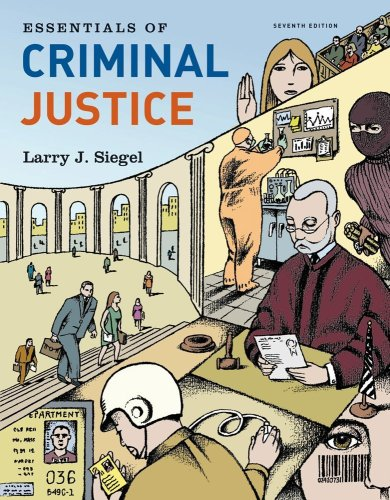 Essentials of Criminal Justice  7th 2011 9780495810995 Front Cover