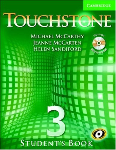 Touchstone, Level 3  Student Manual, Study Guide, etc.  edition cover