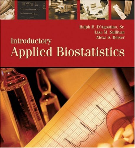 Introductory Applied Biostatistics   2006 9780534423995 Front Cover