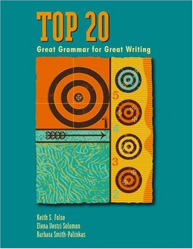 Top 20 Great Grammar for Great Writing  2004 edition cover