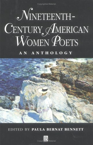 Nineteenth-Century American Women Poets An Anthology  1998 edition cover