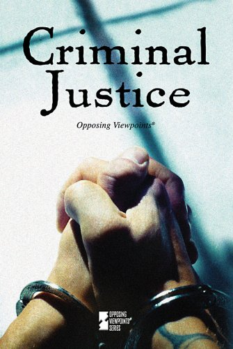 Criminal Justice   2009 edition cover