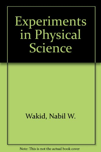 Experiments in Physical Science Revised  9780757567995 Front Cover