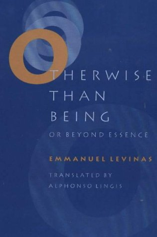 Otherwise Than Being or Beyond Essence  N/A edition cover