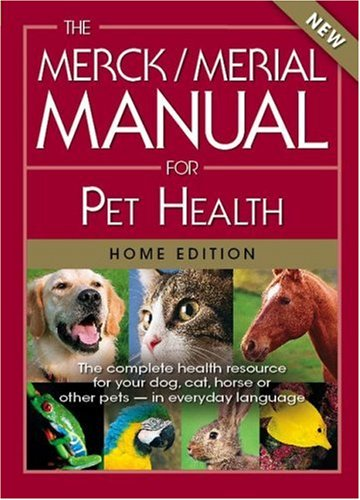 Merck/Merial Manual for Pet Health The Complete Pet Health Resource for Your Dog, Cat, Horse or Other Pets - In Everyday Language  1974 edition cover