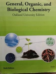 GENERAL,ORGANIC+BIO.CHEMISTRY  N/A 9781285111995 Front Cover