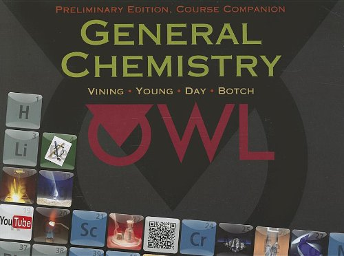 General Chemistry, Preliminary Edition   2013 edition cover