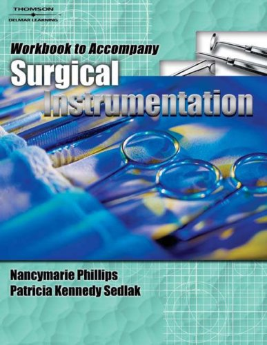 Surgical Instrumentation   2010 (Workbook) edition cover