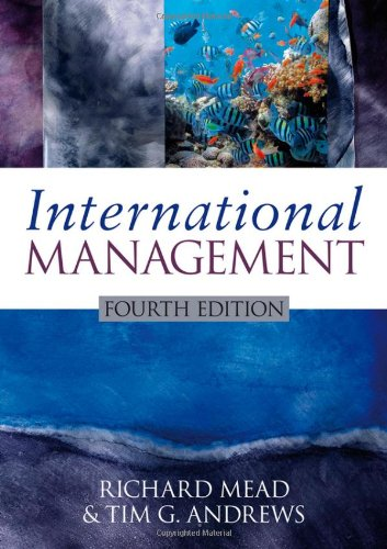 International Management  4th 2009 edition cover