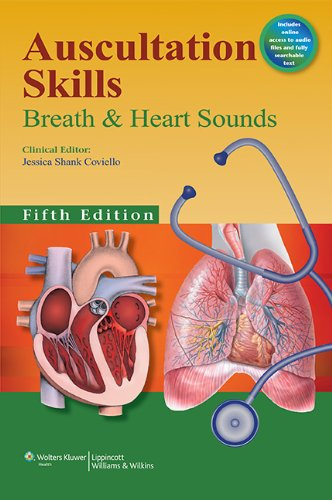 Auscultation Skills Breath and Heart Sounds 5th 2014 (Revised) edition cover