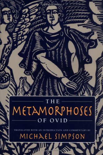 Metamorphoses of Ovid   2003 edition cover