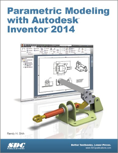 Parametric Modeling with Autodesk Inventor 2014  N/A edition cover
