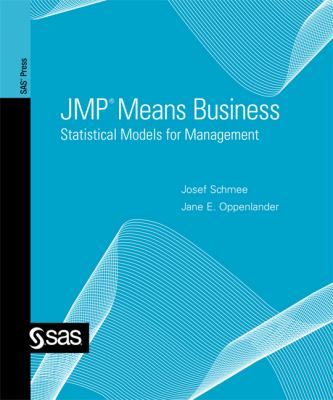 JMP Means Business Statistical Models for Management  2010 edition cover