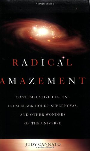 Radical Amazement Contemplative Lessons from Black Holes, Supernovas, and Other Wonders of the Universe  2006 edition cover