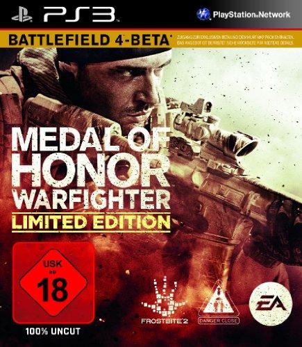 MEDAL OF HONOR WARFIGHTER PlayStation 3 artwork