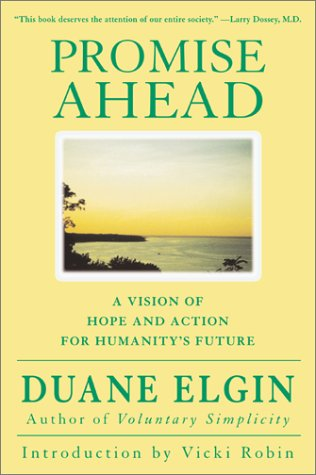 Promise Ahead A Vision of Hope and Action for Humanity's Future  2001 edition cover