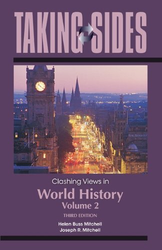 Clashing Views in World History  3rd 2011 edition cover