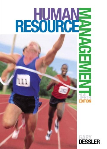 Human Resource Management  14th 2015 edition cover
