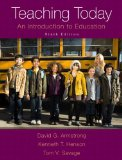 Teaching Today An Introduction to Education 9th 2015 edition cover