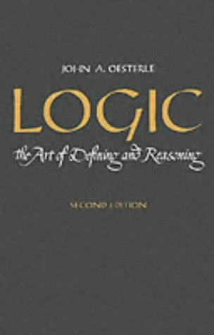 Logic The Art of Defining and Reasoning 2nd 1963 edition cover