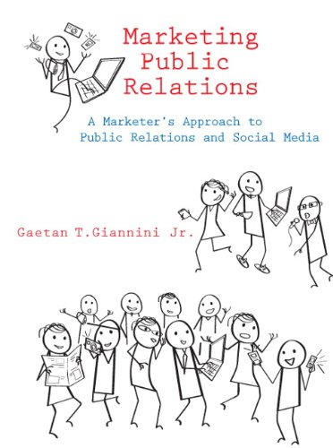 Marketing Public Relations   2010 edition cover