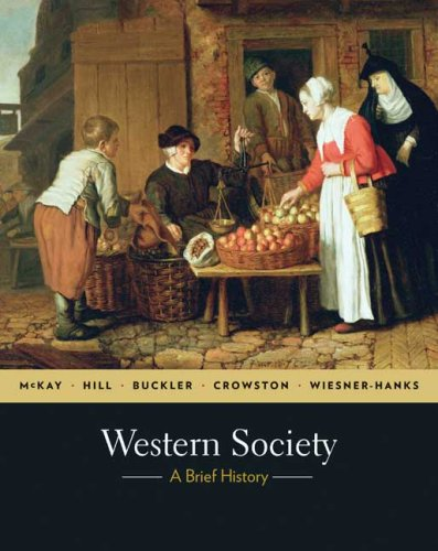 Western Society A Brief History  2010 9780312682996 Front Cover