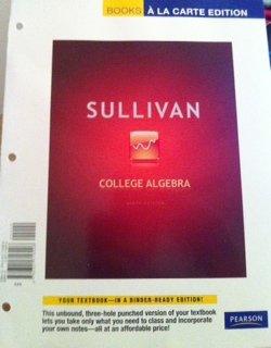 College Algebra, Books a la Carte Edition  9th 2012 edition cover