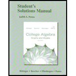 Graphing Calculator Manual for College Algebra Graphs and Models 5th 2013 edition cover