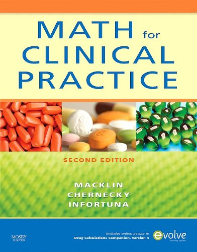 Math for Clinical Practice  2nd 2010 edition cover