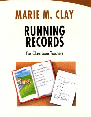 Running Records for Classroom Teachers   2000 edition cover