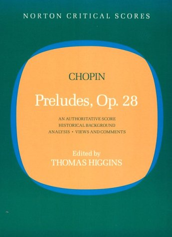 Preludes, Opus  No.28  N/A edition cover
