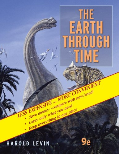 Earth Through Time  9th 2010 edition cover