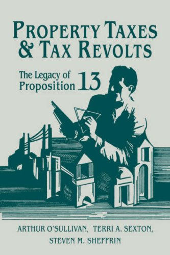 Property Taxes and Tax Revolts The Legacy of Proposition 13  2007 9780521035996 Front Cover