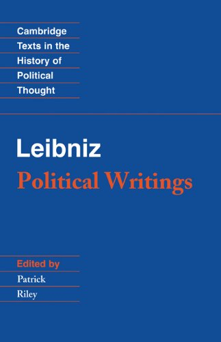 Leibniz Political Writings 2nd 1988 (Revised) edition cover