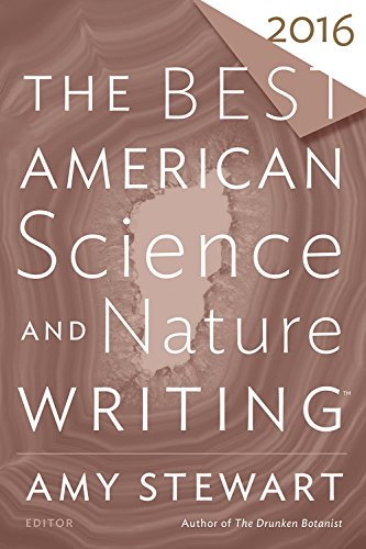 Best American Science and Nature Writing 2016   2016 9780544748996 Front Cover