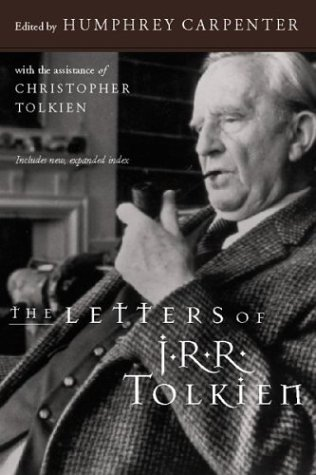 Letters of J. R. R. Tolkien   1999 edition cover