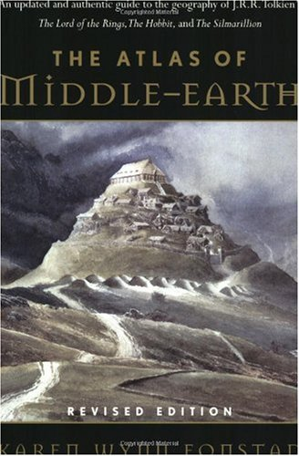 Atlas of Middle-Earth   2001 (Revised) edition cover