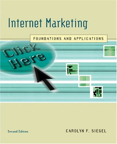 Internet Marketing Foundations and Applications 2nd 2006 edition cover