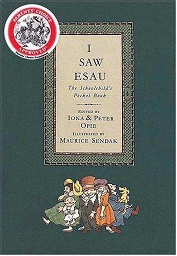 I Saw Esau The Schoolchild's Pocket Book N/A edition cover