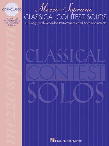 Classical Contest Solos - Mezzo-Soprano  N/A 9780793577996 Front Cover