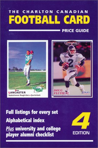 The Charlton Canadian Football Card Price Guide  1998 9780889681996 Front Cover