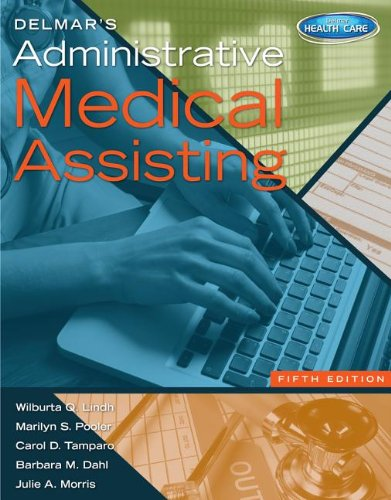 Delmar's Administrative Medical Assisting With Premium Website Printed Access Card:   2013 edition cover