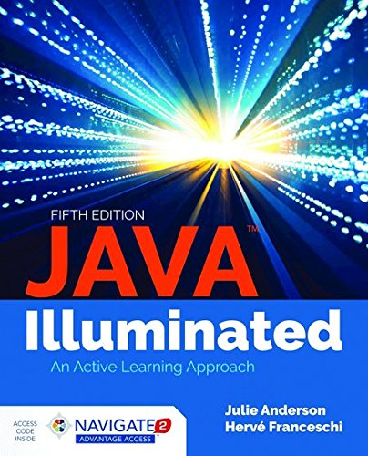 Java Illuminated  5th 2019 (Revised) 9781284140996 Front Cover