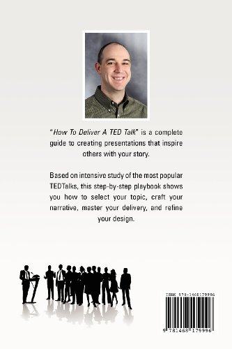 How to Deliver a Ted Talk Secrets of the World's Most Inspiring Presentations N/A edition cover