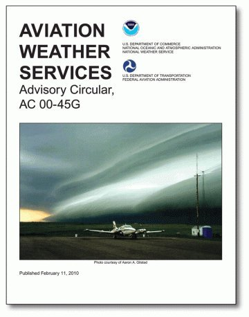 AVIATION WEATHER SERVICES AC 0 N/A edition cover